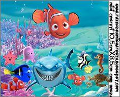 Ideas y material gratis para fiestas y celebraciones Oh My Fiesta!: Imprimibles de Nemo 7.