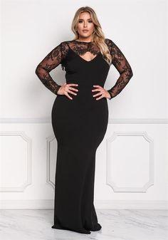 Plus Size Formal Dresses Plus Size Black Dresses, Plus Size Party Dresses, Plus Size Gowns, Evening Dresses Plus Size, Plus Size Outfits, Plus Size Gala Dress, Girls Maxi Dresses, Gala Dresses, Curvy Women Fashion