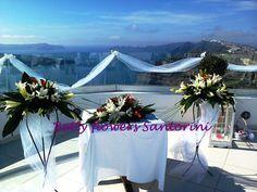 Ceremony area decoration