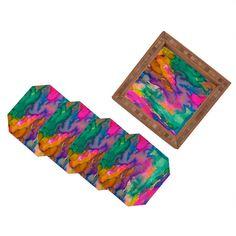 DENY Designs Home Accessories | Amy Sia Ardour Coaster Set