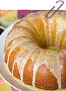 Glazed Orange Pound Cake - Table for Two