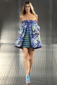 Sfilata Mary Katrantzou Londra - Collezioni Primavera Estate 2014 - Vogue