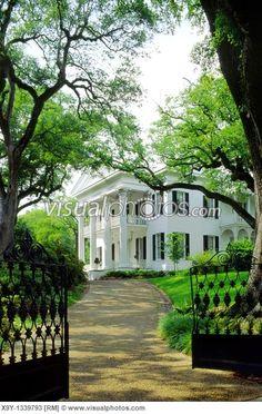 Mississippi Antebellum Plantation Homes | Natchez, Mississippi, USA Stanton Hall antebellum plantation mansion ...