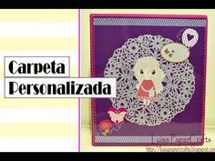 Luisa PaperCrafts: Carpeta personalizada #regresoaclases #backtoschool #personalizedbinder
