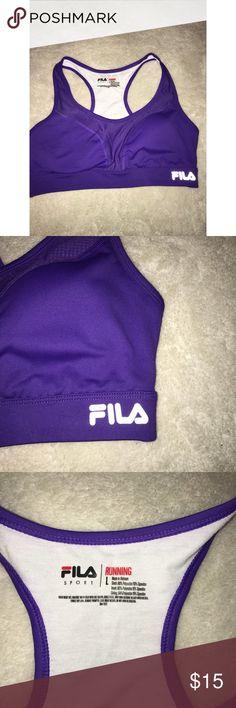 Purple Fila Sports Bra! Never worn. Running Sports Bra. Fila Intimates & Sleepwear Bras