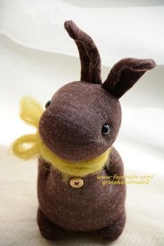 Grace--#336 sock Domy Rabbit