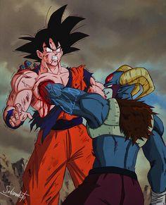 Dragon Ball Z, Goku Dragon, Dragon Bowl, Manga Anime, Manga Art, Black Anime Characters, Goku Vs, Animes Wallpapers, Dbz