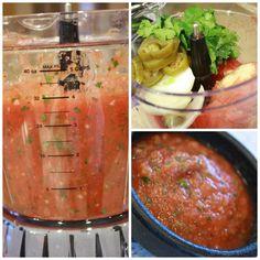Canned Tomato Salsa Appetizer Recipe