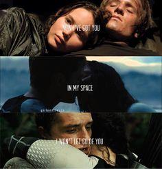 I won't let go of you - Everlark