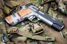 The 1911 STX from the Sig Sauer Custom Shop is a two-tone 1911 that's loaded with features.
