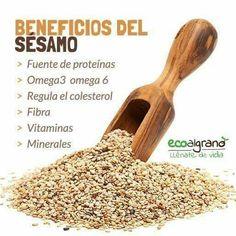 Beneficios del sésamo