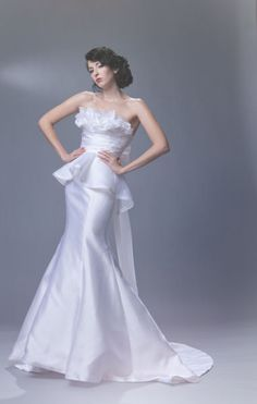 Sarah Houston Wedding Gown: Payton Designer Wedding Dresses, Bridal Dresses, Wedding Gowns, Dress Attire, Here Comes The Bride, Classic Beauty, Bridal Collection, Vintage Dresses, One Shoulder Wedding Dress