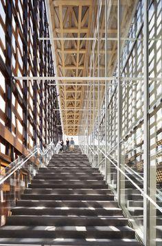 aspen art museum - aspen - shigeru ban - 2014 - photo michael moran