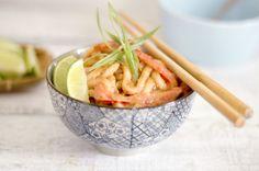 How to Make Spicy Peanut Noodles -- via wikiHow.com