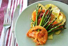 Vegan Potato, Tomato, and Asparagus Tart - Door to Door Organics