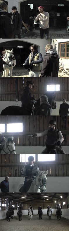 The Musketeers - Boot camp, Horsing around