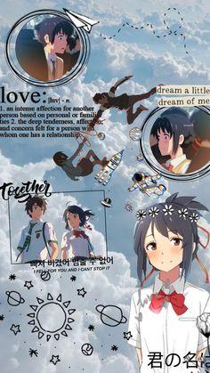 Cool Anime Wallpapers, Cute Anime Wallpaper, Animes Wallpapers, Anime Films, Anime Characters, Mitsuha And Taki, Kimi No Na Wa Wallpaper, Your Name Wallpaper, Your Name Anime