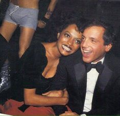 Diana Ross & Steve Reubell - Studio 54 - January 1979