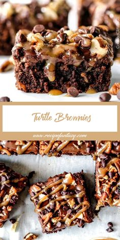 Discover recipes, home ideas, style inspiration and other ideas to try. Nutella Brownies, Kakao Brownies, Beste Brownies, Cocoa Brownies, Brownie Frosting, Cream Cheese Brownies, Chewy Brownies, Blondie Brownies, Caramel Brownies