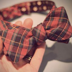 How to: Make a DIY Reversible Bow Tie from Old Neck Ties