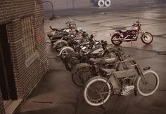 1907 Harley-Davidson - History Shot