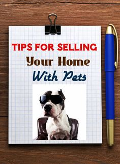 Tip For Selling A Home With Pets: http://www.maxrealestateexposure.com/tips-to-sell-a-home-with-pets/ #realestate