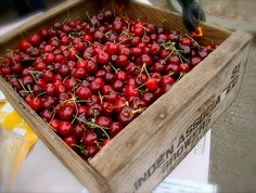 cherries.....one of my all time favs