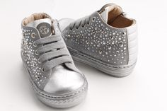 and for the tiniest Florens-Le Piccole! Thought for your cheeky princesses! #FlorensShoes #sneakers #studs #silver #leather #cute #pretty #children #sweet #lovely