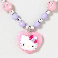 Hello Kitty Heart Necklace...