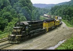 RailPictures.Net Photo: WM 7570 Western Maryland Railway EMD SD40 at Fairhope, Pennsylvania by Vince Hammel Jr