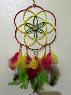 Seed of life (Rasta) Dreamcatcher