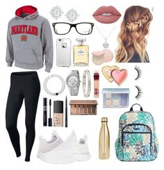 """School 81"" by ella-goodness on Polyvore featuring NIKE, Lokai, Vera Bradley, S'well, LifeProof, Chanel, Christian Dior, NARS Cosmetics, Cartier and Ray-Ban"