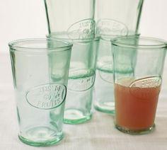JUS DE FRUITS GLASS, SET OF 6  $33.00 i want