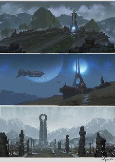 Random thumbnails., zhang pengzhen on ArtStation at https://www.artstation.com/artwork/random-thumbnails-64189569-6a1b-44af-8ca8-43a9a632e194