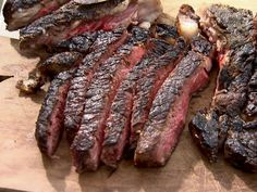 Eli's Grilled Rib Eye Steak recipe from Barefoot Contessa via Food Network