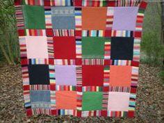 Pieced Sweater Blanket