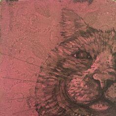 www.anna-maija.fi Intaglio Printmaking, Anna, Kitty, Cats, Artist, Little Kitty, Gatos, Kitty Cats, Artists