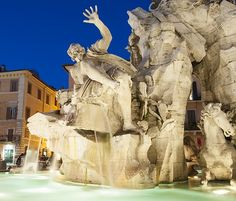 Piazza Navona, Rome, Italy photographed with passion by www.gillyfish.com Piazza Navona, Rome Italy, Beautiful Images, Mount Rushmore, Passion, Mountains, City, Nature, Travel