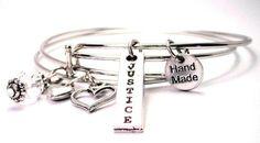 Justice bangle bracelet set