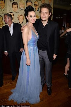 The way it was: The 31 songstress and rocker John, 38, pictured at a post-Grammy party in Los Angeles in January, 2014, called it quits on their three-year on-off relationship last July
