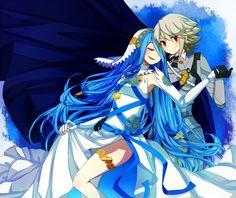 Fire Emblem Fates - Azura x Corrin <3