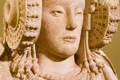 Dama de #Elche s.IV a.C. encontrada en la Alcudia.