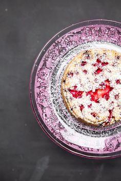 Bezglutenowe ciasto piaskowe z porzeczkami - najlepsze!