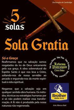 Only grace - gospel - Sola Fide, 5 Solas, I Love You Lord, Sola Scriptura, Christ In Me, Reformed Theology, Jesus Freak, Reformation, Word Of God