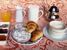 Our Continental Breakfast #barcelona