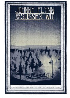 Sillion Tour poster - Johnny Flynn & The Sussex Wit