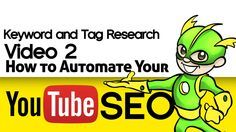 Easy Keywords and Tag Research - YouTube SEO Video 2