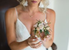 Floral bracelet by Petals - Mother-of-the-bride-gift - Dmitri & Sandra Photography