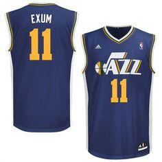 Dante Exum Utah Jazz adidas 2014 NBA Jersey