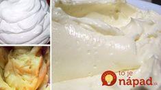 Toto pred sviatkami vyvážite zlatom: 13 najlepších krémov do všetkých vašich dezertov, ktoré viete rýchlo pripraviť – na jednom mieste! Eclairs, Camembert Cheese, Nutella, Icing, Dairy, Food And Drink, Sweets, Cream, Desserts